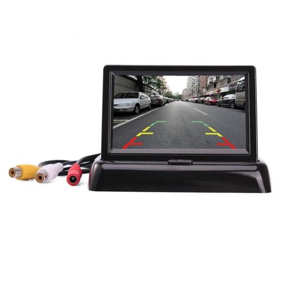 """4.3"""" LCD Монитор со задна паркинг камера за безбедно паркирање"""