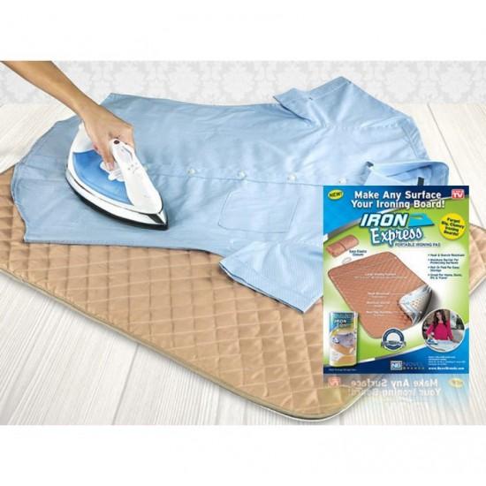 Portable Ironing Pad - прекривка за пеглање