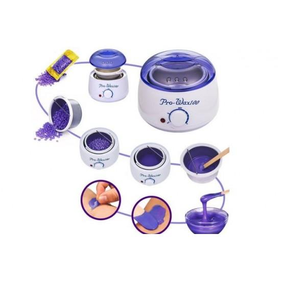 Акција - Pro Wax 100 - Апарат за топење на восок за депилација + 1 кесичка восок